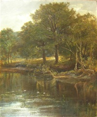 on the river mally by joseph adam