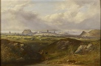 a panoramic view of edinburgh from the south east by henry g. duguid
