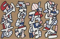 la botte á nique by jean dubuffet