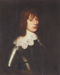 portrait of a gentleman by willem van honthorst