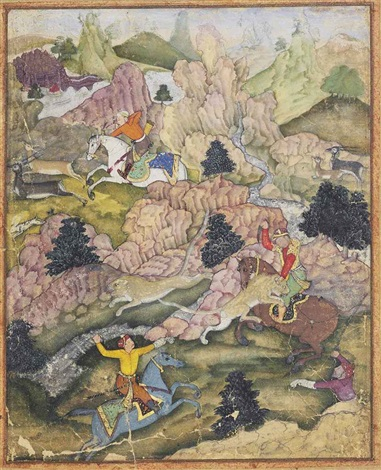 a hunt by anonymous indian mughal 16