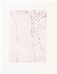 column and tree by ben nicholson