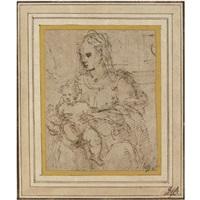 madonna and child by perino del vaga