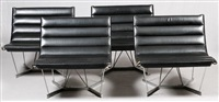catenary chairs (set of 4) by george nelson & associates