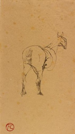 cheval by henri de toulouse lautrec