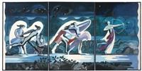 traité du narcisse: a triptych by alexandra exter