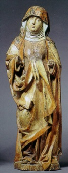 figure of the virgin by hans multscher