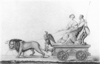 napoléon iii sur un char by hippolyte murciani