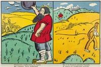 le charcutier avança vers ód by kazimir malevich
