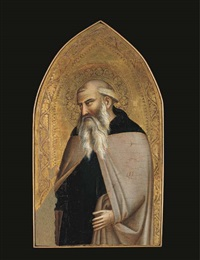 saint anthony abbot by taddeo gaddi