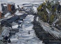 urbanscape - dodder near liffey by pat macallister