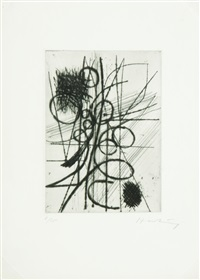 composition 004 by hans hartung