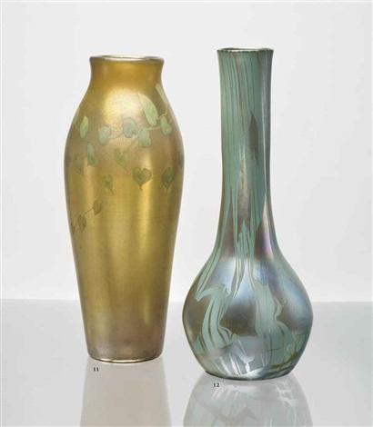 monumental vase by tiffany studios