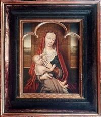 vierge à l'enfant by hans memling
