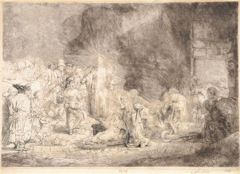 the hundred guilder print by rembrandt van rijn