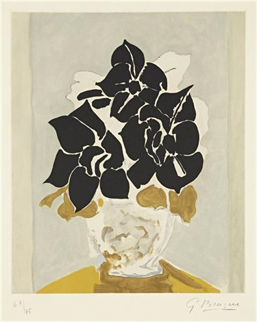 les amaryllis by georges braque