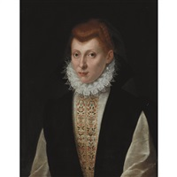 woman in a small ruff by sofonisba anguissola