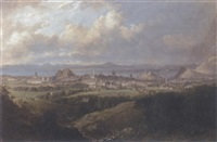 view of edinburgh from the braid hills by henry g. duguid