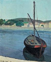 la barque, martigues by m. briggs