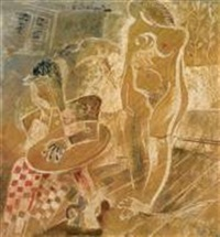 le peintre et son modèle by moses bagel
