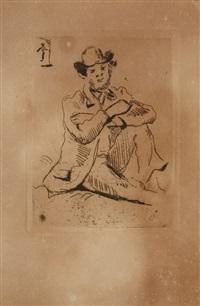 guillaumin au pendu by paul cézanne