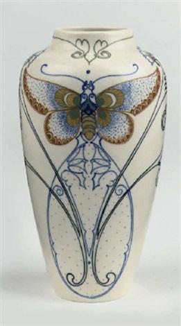 vase by arnhemsche fayencefabriek