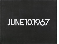 june 10 (from today series, no.101) by on kawara