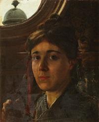 autoportrait by anna alma-tadema
