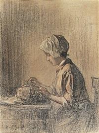 la petite dentelière by joseph bail