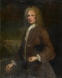 portrait of a gentleman (john campbell?) by william aikman