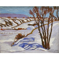 winter near charlevoix by randolph stanley hewton