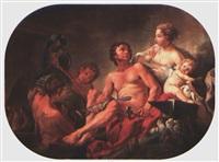 scène allégorique by c. ragoneau