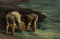 enfants dans la mer by vasilis germenis