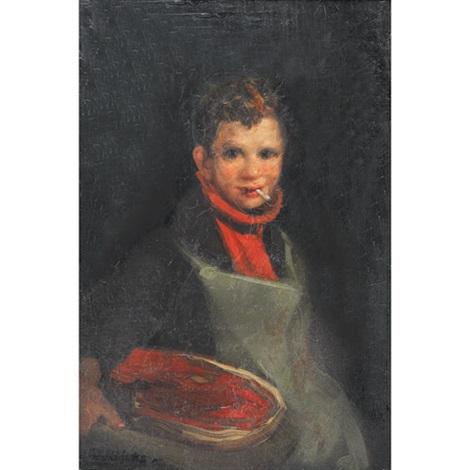 butcher boy east end by george benjamin luks