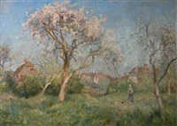 apple blossom by james herbert snell