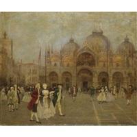 piazza san marco, venezia by cesare vianello