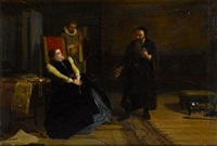 mary queen of scots and john knox by robert herdman