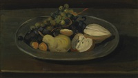 assiette de fruits by andré derain
