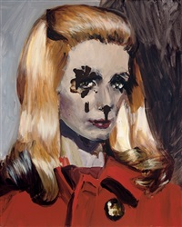 catherine deneuve by dawn mellor