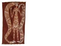 nawarran (oenpelli python) and mimih spirit by david milaybuma