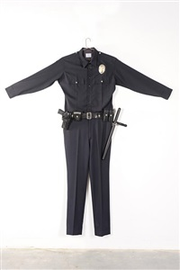 l.a.p.d. uniform by chris burden