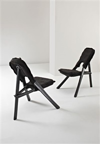 kasese sheep chairs (pair) by hella jongerius