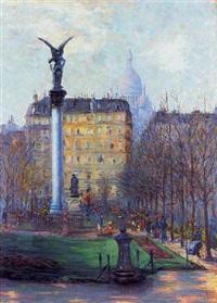 square d'anvers, paris by rudolf quittner