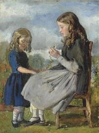 the garland weavers by sir john everett millais