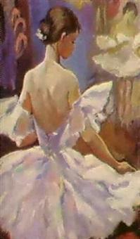 jeune ballerine by oleg orlov
