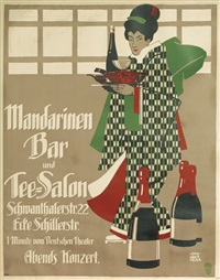 mandarinen bar und tee - salon by otto obermeier