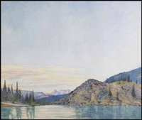 mount douglas by walter joseph phillips