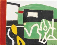 study for gravesend by stuart davis