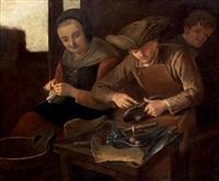 dans l'atelier du cordonnier by giacomo francesco cipper