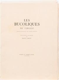 les bucoliques de virgile (folio of 16) by hans erni